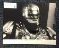 Robocop black and white lobby card from the 987