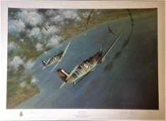 Battle of Britain Print 22x30 titled Chariots of Fire