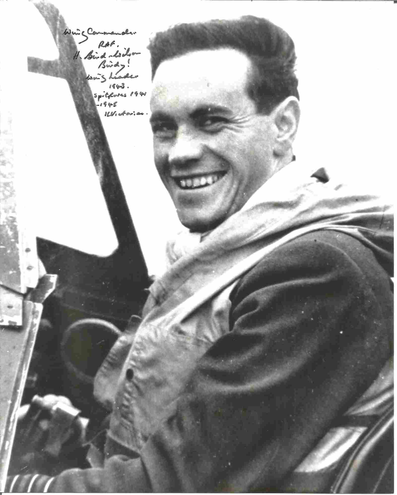 WW2 RAF Ace H A C Birdy Bird Wilson CBE DSO DFC & Bar