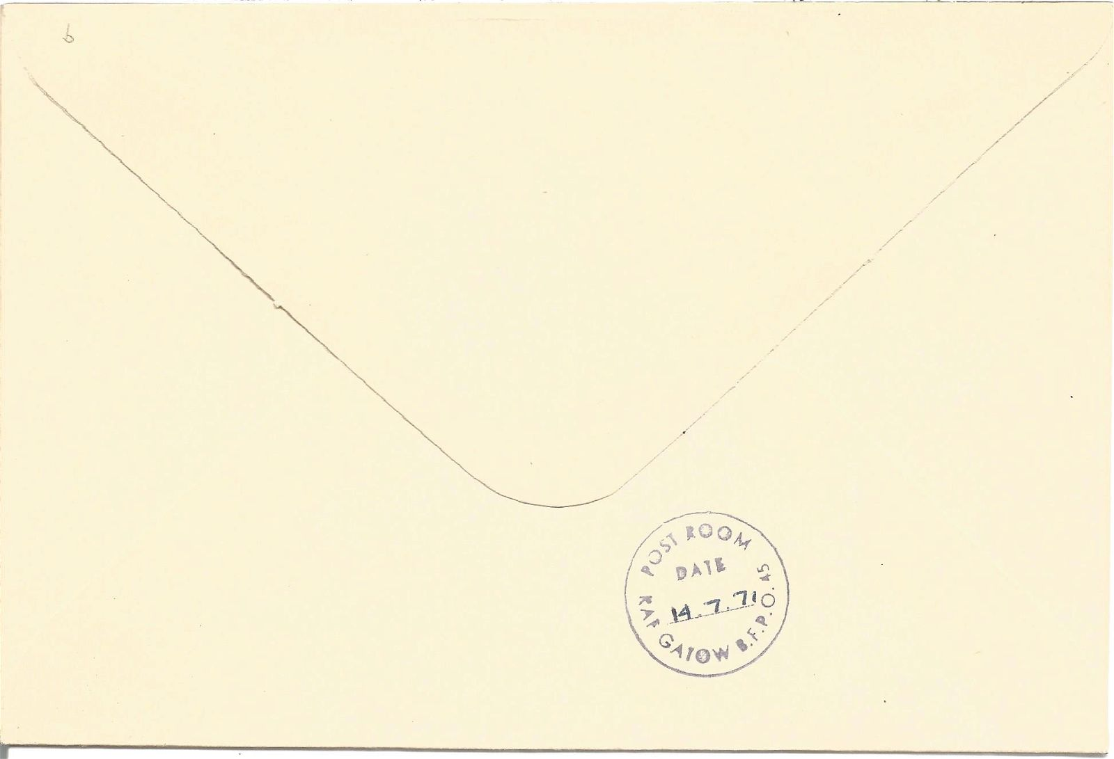 Sqn. Ldr. R. E. Lockhart signed RAF Leeming 30th