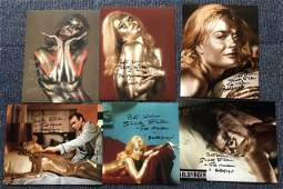 James Bond Goldfinger collection of six 10 x 8 inch