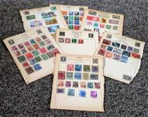 Germany and Austria stamp collection on 17 loose album