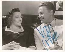 Van Johnson signed 10 x 8 inch b/w photo, slight crease