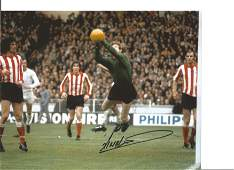 Football Jim Montgomery 10x8 Signed Colour Photo
