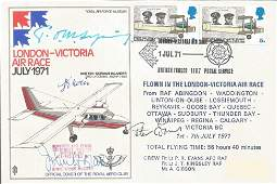 Tom Sopwith Aircraft designers signed 1971 London to