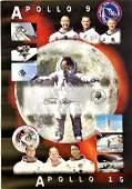 Apollo Astronaut Dave Scott signed 16 x 12 matt print