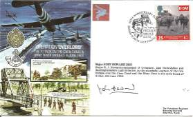 Major John Howard DSO signed Operation Overlord The