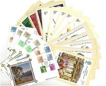 PHQ and FDC cover collection. 23 mint phq cards and 9