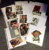 Music Collection 18 assorted signed photos and