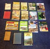 Railway Hardback and Softback book collection 16 titles
