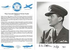 WW2 RAF Wg Cdr Harbourner Mackay Stephen Battle of
