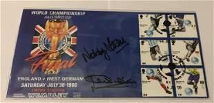 Jack Charlton and Nobby Stiles signed 2006 Football