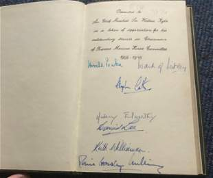 Rare WW2 signed books. The Debt We Owe, The Royal Air