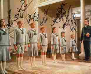 The Sound of Music 8x10 photo signed by all seven of