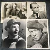 Vintage Film collection Four 10 x 8 inch bw photos