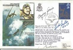 WW2 Luftwaffe Battle of Britain aces Victor Molders and