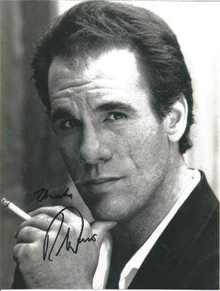 Robert Davi signed 10x8 black and white photo. Robert