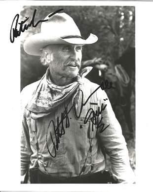 Robert Duval signed 10x8 black and white photo. Robert