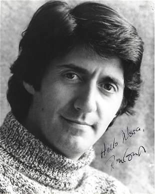 Tom Conti Signed 10 x 8 inch b/w portrait photo,