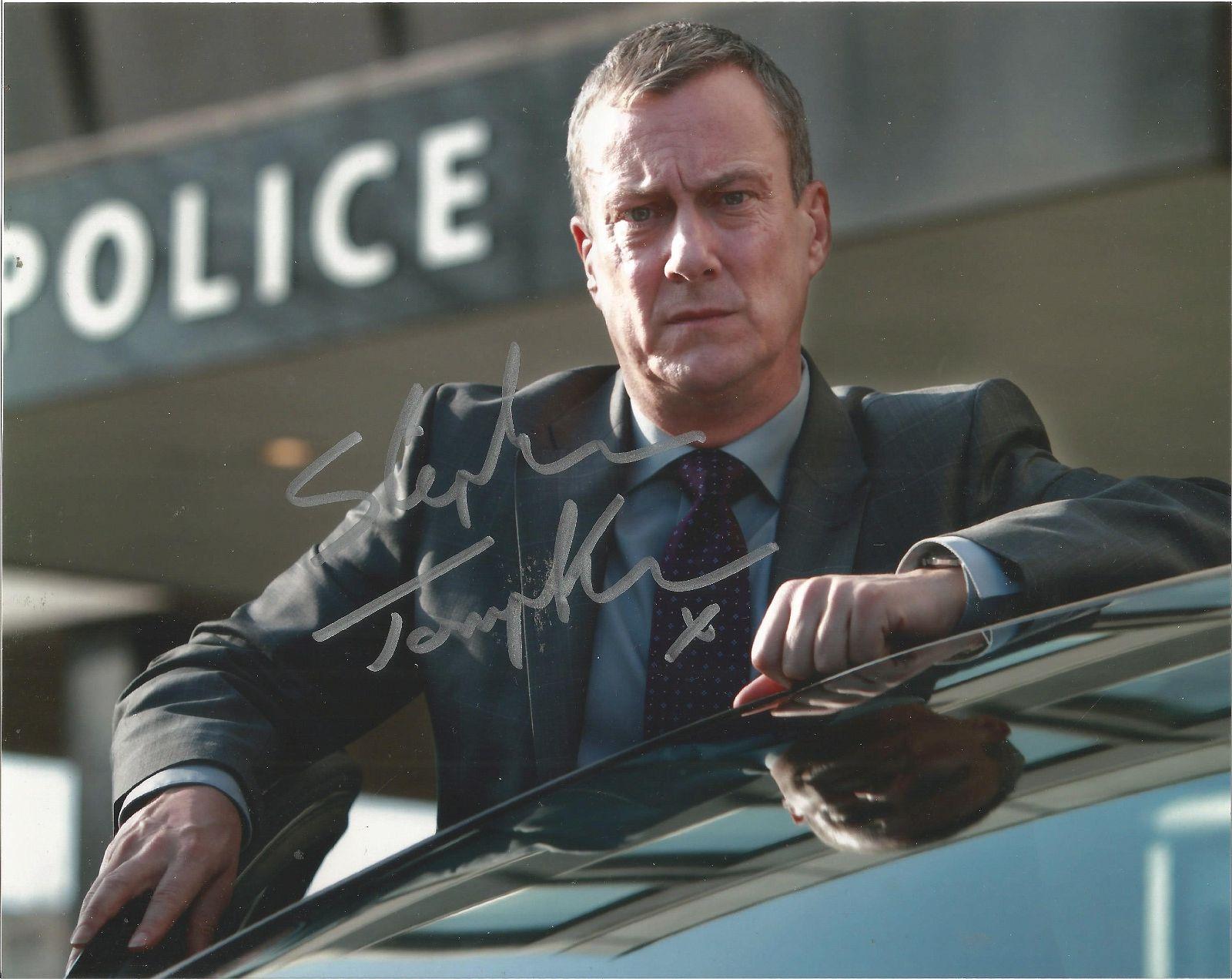 Stephen Tompkinson signed 10x8 colour photo. Good