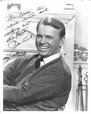 John Lund signed 10x8 black and white photo. (February