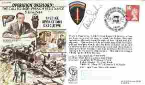 Rare WW2 resistance leader Tania Szabo signed Operation