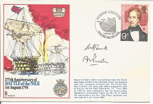 Cdr W. B. Smith and Vice Admiral A. M. Power signed