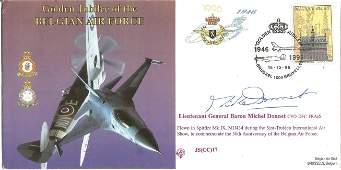 Lieutenant General Baron Michel Donnet CVO DFC FRAeS