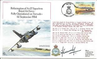 Acm Kennedy signed Reformation of No27 Sqn RAF Fully