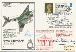 WW2 Mossie test pilot Pat Fillingham and Sqn Ldr