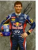 Mark Webber signed 12x8 colour full length portrait
