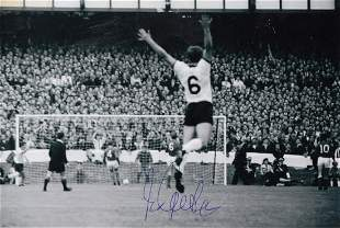 Autographed West Germany 6 X 4 Photo - Wolfgang Weber :