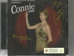 Connie Fisher signed CD insert. CD not included. Good