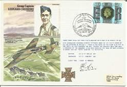 Leonard Cheshire VC cover signed by Flt Lt Conlon Good