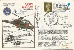 WW2 Luftwaffe BOB and US aces multiple signed Army Air