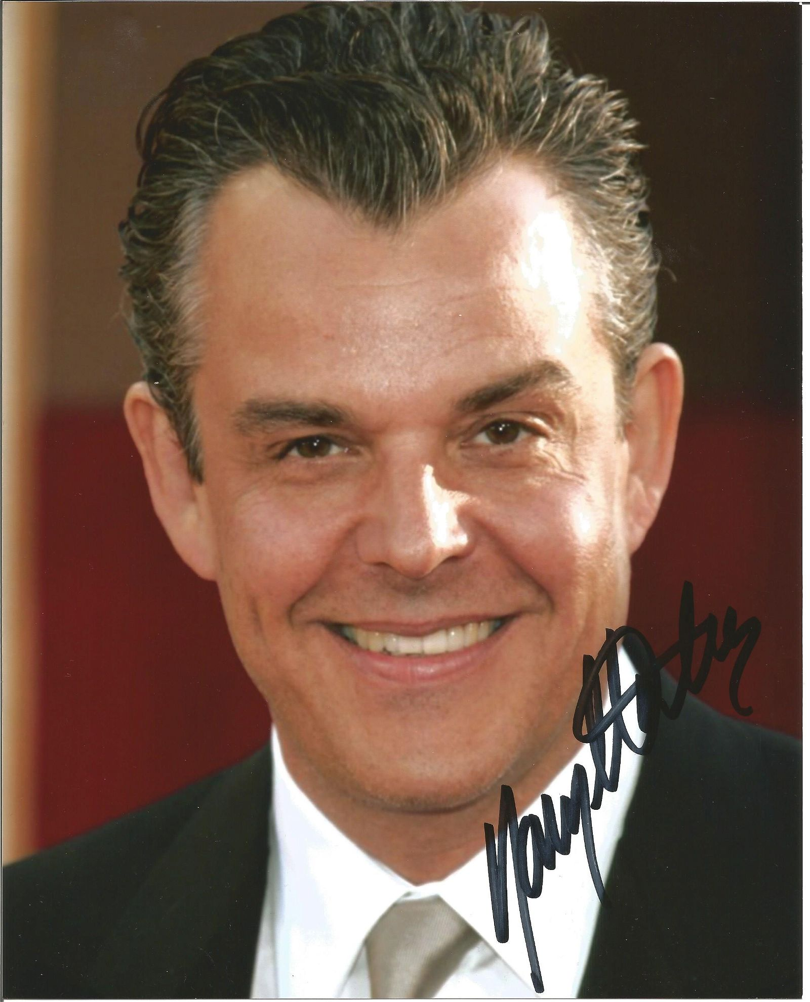 Danny Huston signed 10x8 colour photo headshot
