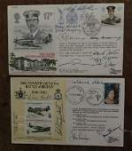 Battle of Britain two multiple signed RAF covers 15