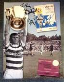 Celtic 1967 Lisbon Lions Signed 12x16 Montage Photo