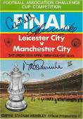 Autographed Manchester City Programme, 1969 Fa Cup