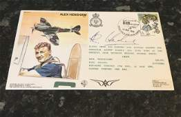 Alex Henshaw 1912 2007 MBE was a British air racer in