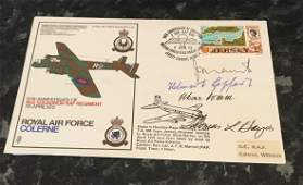 WW2 Aces multi signed Hans Rossbach type cover