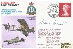 WW2 fighter ace Wg Cdr Roland Beamont DSO DFC signed