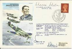 WW2 top allied fighter ace AVM Johnnie Johnson DSO DFC