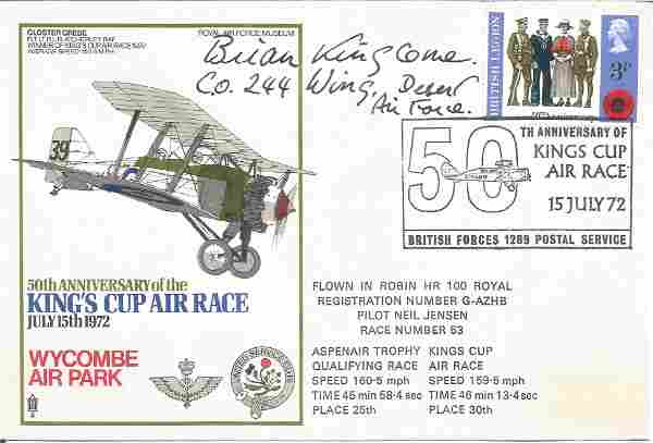 WW2 Fighter ace Brian Kingcome DSO DFC Battle of