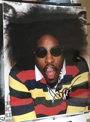Andre 3000 Signed 10x8 Colour Photo. Good condition.