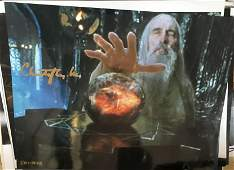 Christopher Lee Signed 10x8 Colour Photo. Good