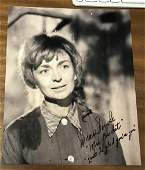 Diana Sowle Signed 10x8 Black And White Photo. Good