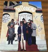 Gene Wilder Signed 10x8 Colour Photo. Good condition.