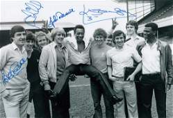 Autographed Arsenal 12 X 8 Photo B/W, Depicting A