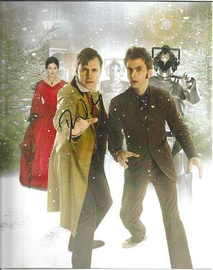 Dr Who David Morrisey signed 10x8 colour photo. In